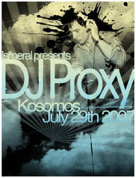 DJ Proxy Flyer