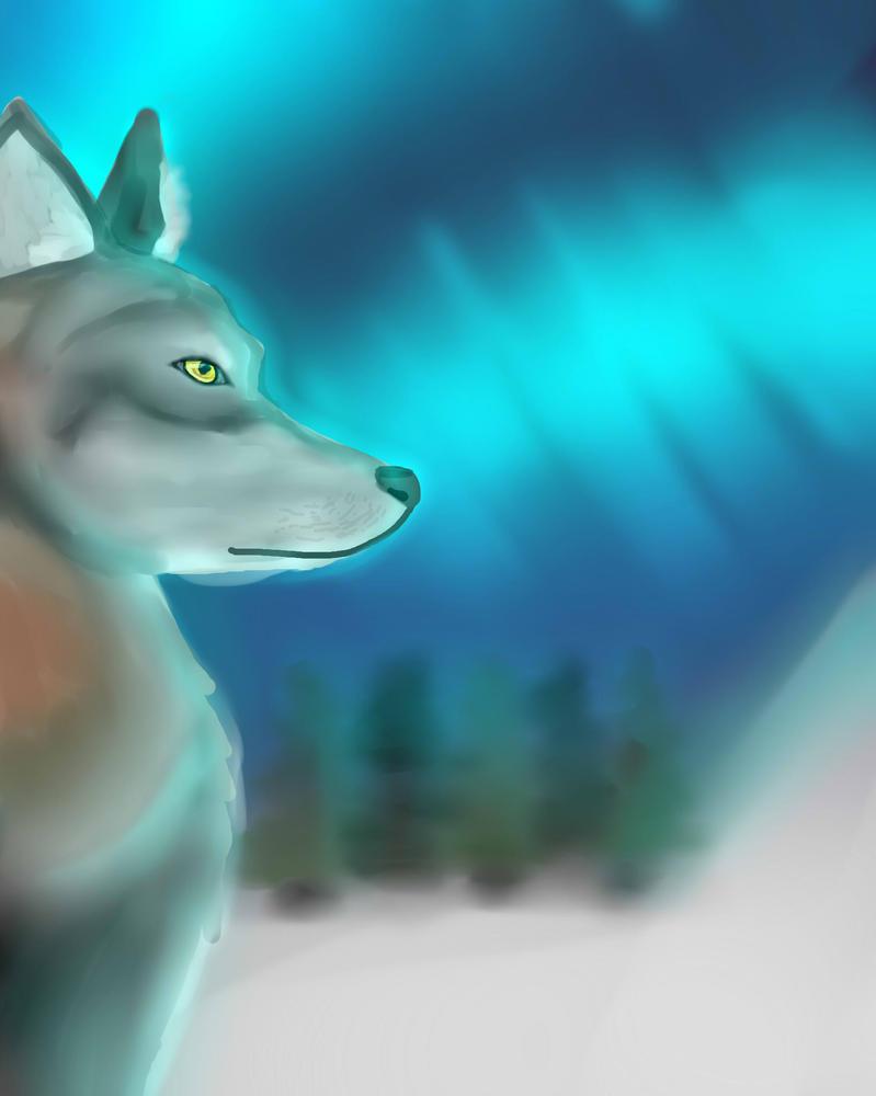 Wolf by GamerGirlN