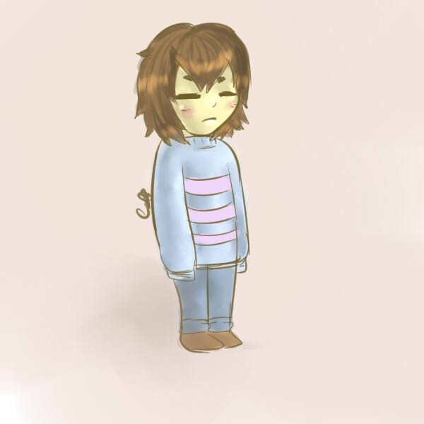 Pastel Frisk by GamerGirlN