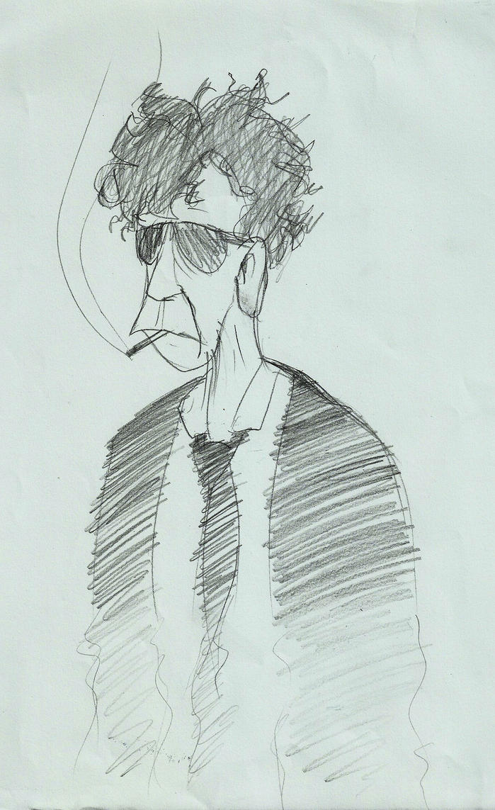 Lou Reed by Saphytrix
