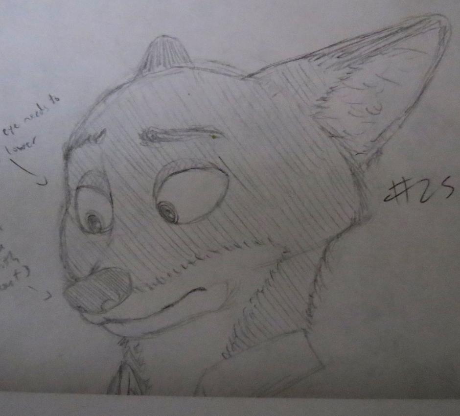 Nick sketch #25 by BrenZan