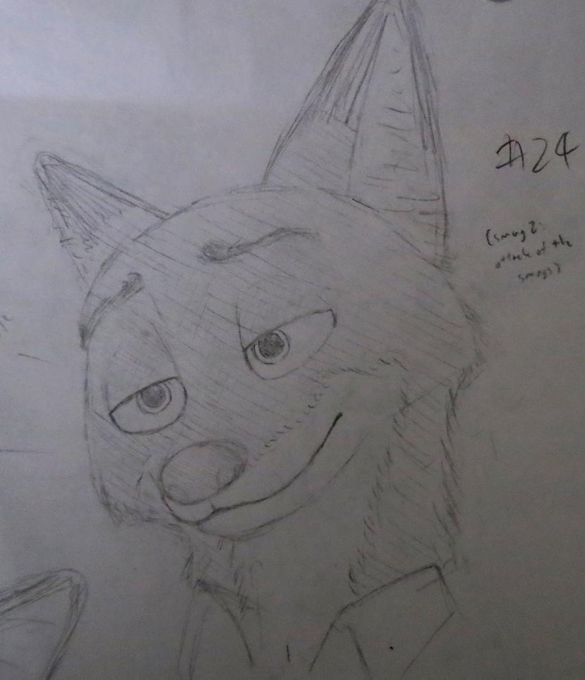 Nick sketch #24 by BrenZan