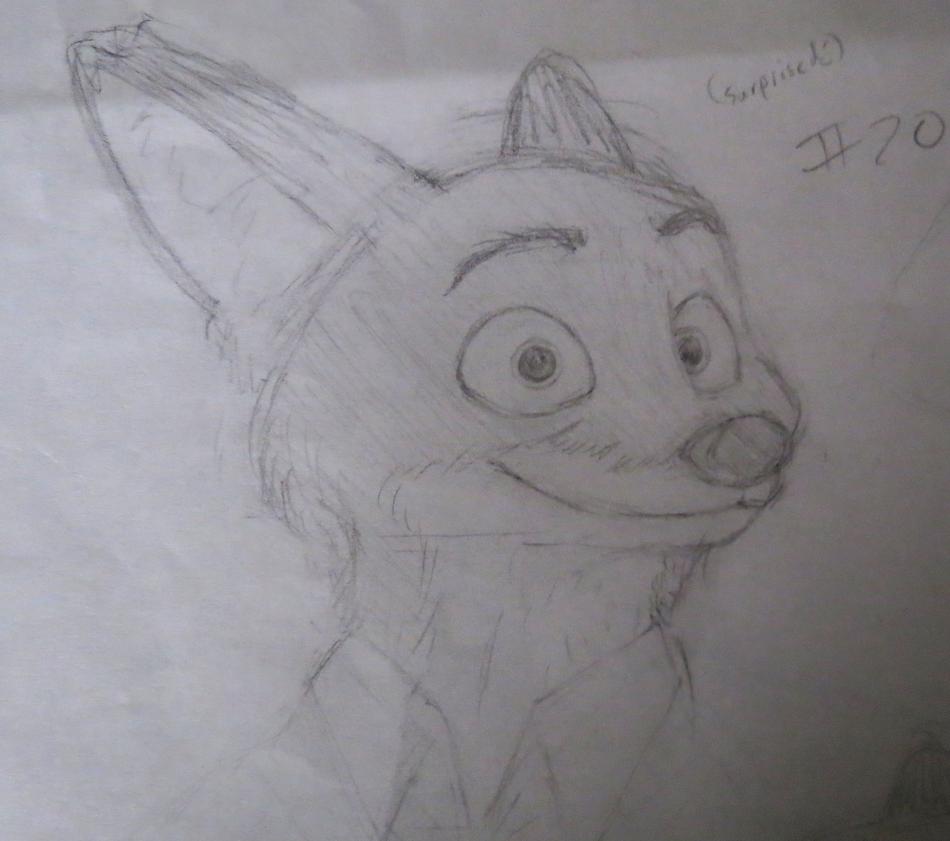 Nick sketch #20 by BrenZan