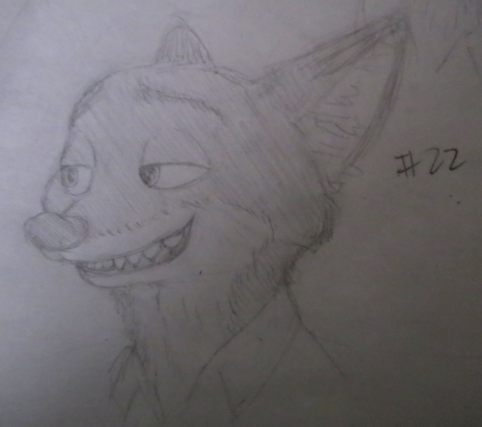 Nick sketch #22 by BrenZan