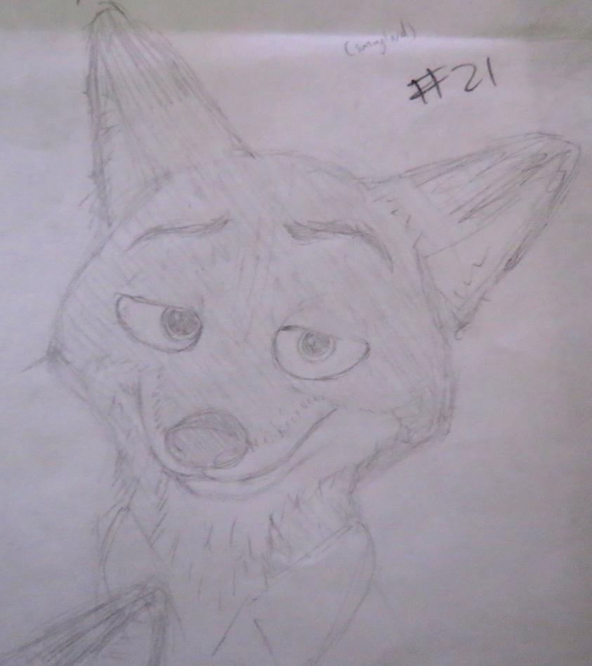 Nick sketch #21 by BrenZan