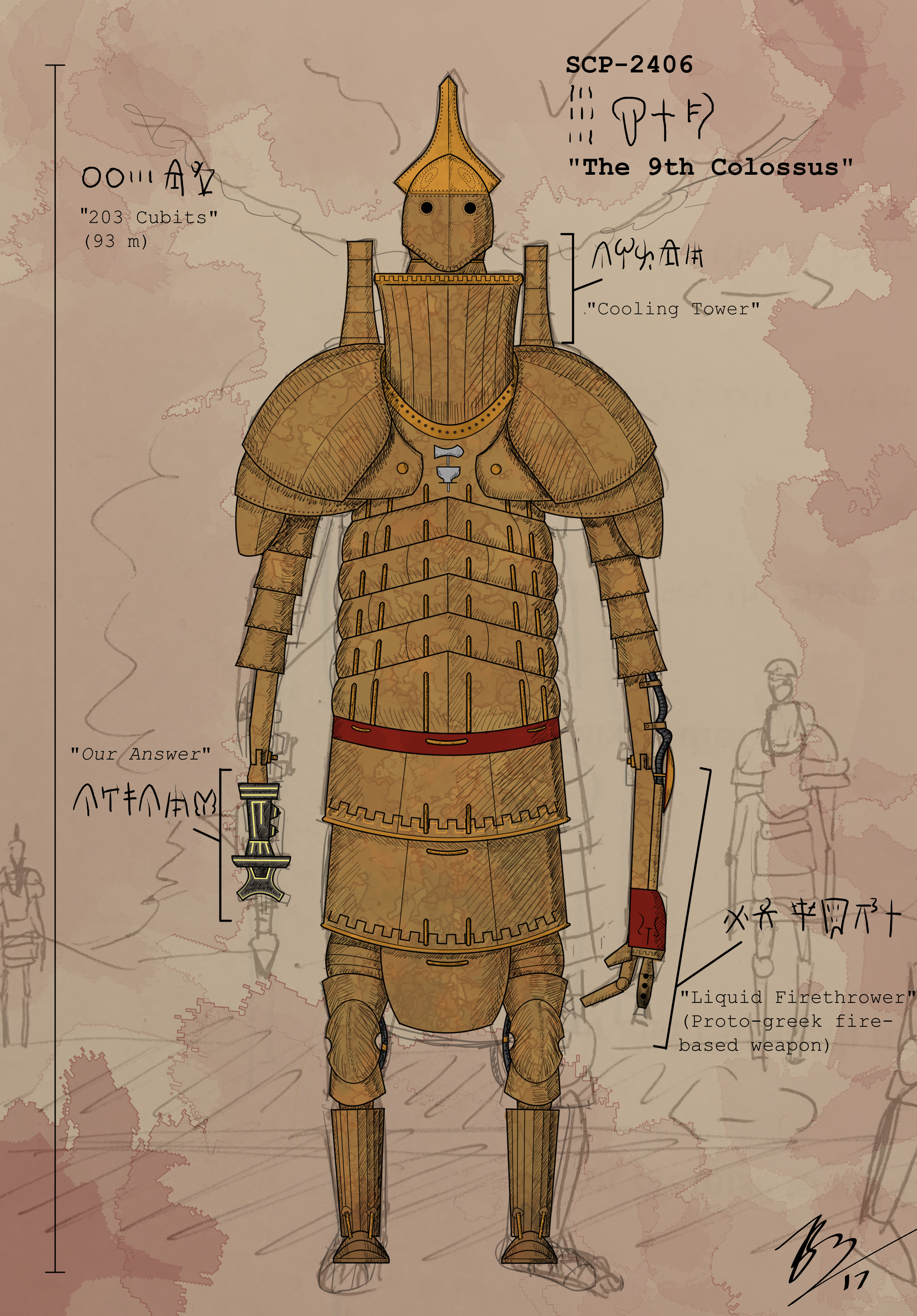 The 9th Colossus, SCP-2406