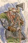 Ombiorix, Varl Warrior by BrenZan