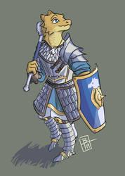 [C] Rasturim, Dragonborn Paladin by BrenZan