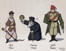 Character Types - 1st Balkan War by BrenZan