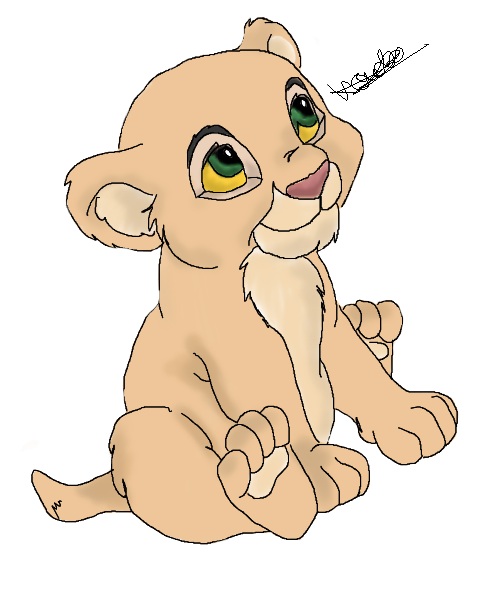 Lion King Baby Simba A...