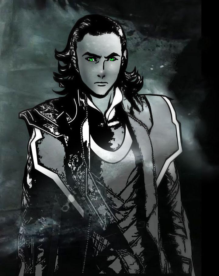Avenger's Loki 2 by TaniaDck1987
