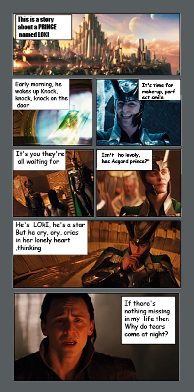 Loki's Epic Fail by TaniaDck1987