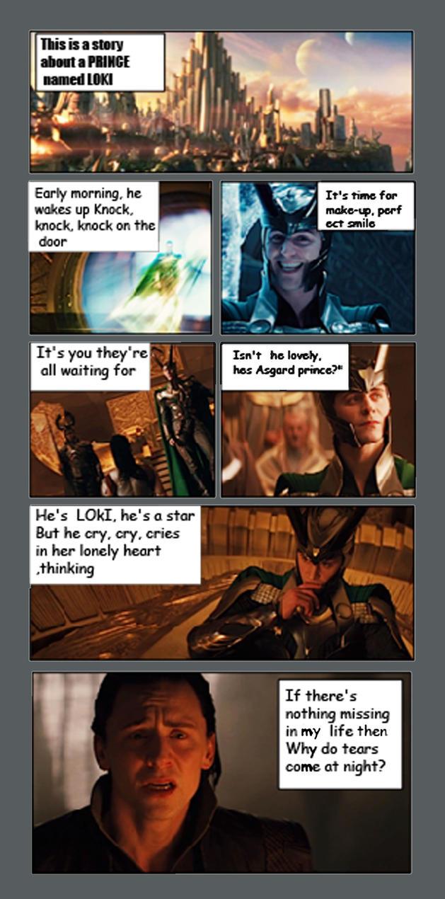Loki's Epic Fail by TaniaDck1987