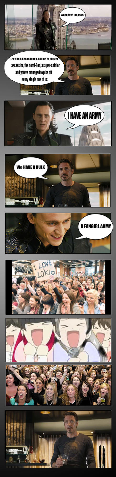 FANGIRL ARMY by TaniaDck1987