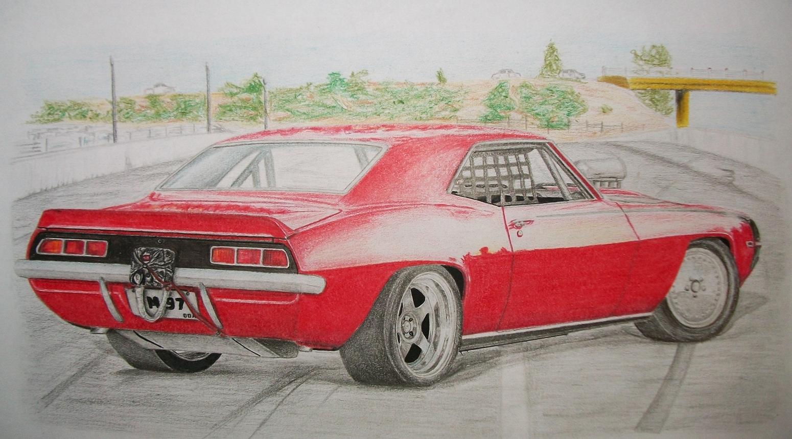 Dibujos de autos (propios) - Autos y Motos - Taringa!
