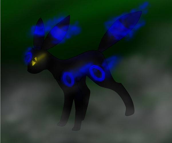 Shiny Umbreon :GIFT: by MillyLuvsSP