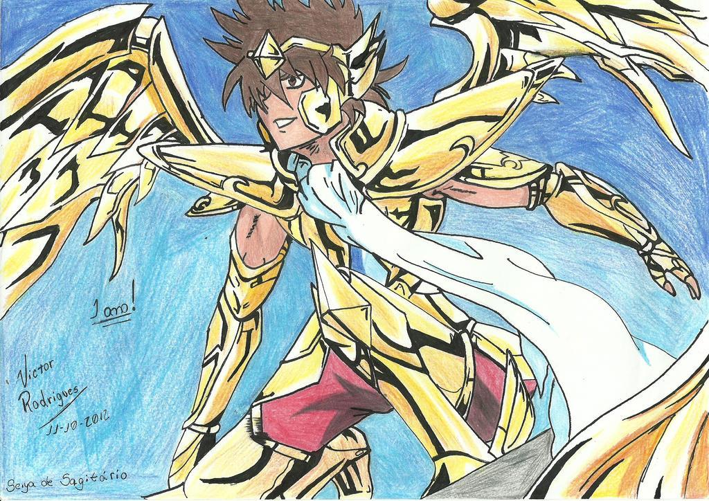 Sagittarius Seiya - Saint Seiya Omega by PegasusVictor