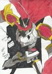 Dukemon (Guilmon Line) - Digimon Tamers