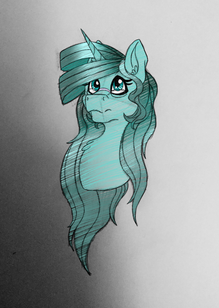 Pretty space horse by AbsoluteCactus