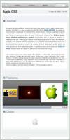 Apple CSS design by Ikue