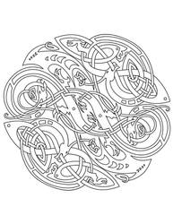 Celtic: Vector Colouring Book by Ikue