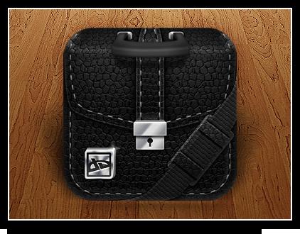 Portfolio Homescreen Icon by Ikue