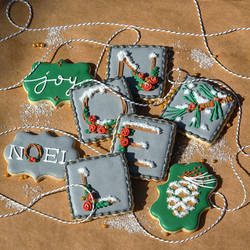 Winter Woodland Cookies