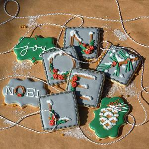 Winter Woodland Cookies