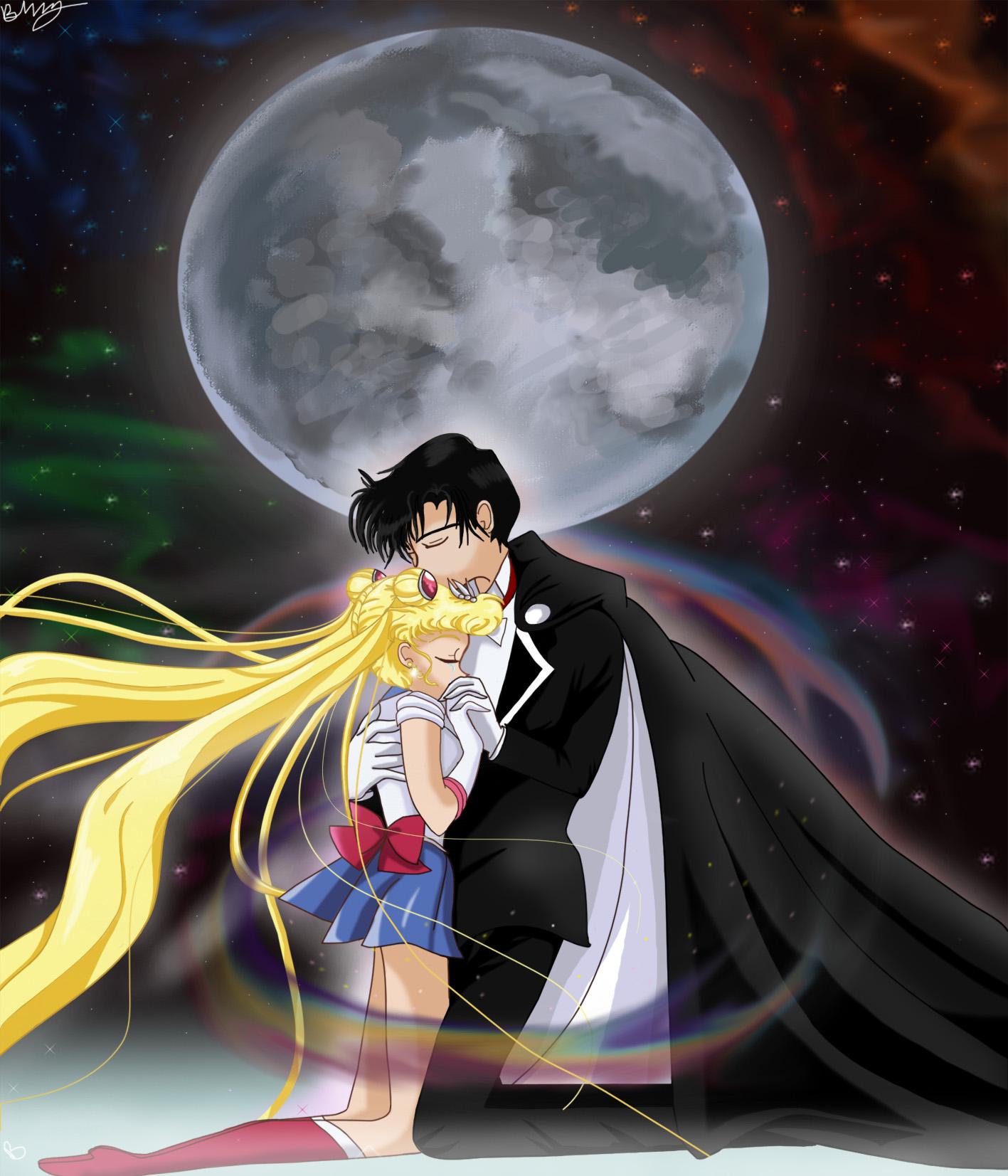 Sailor Moon X Tuxedo Mask: Sailor Moon And Tuxedo Mask By Sailormuffin On DeviantART
