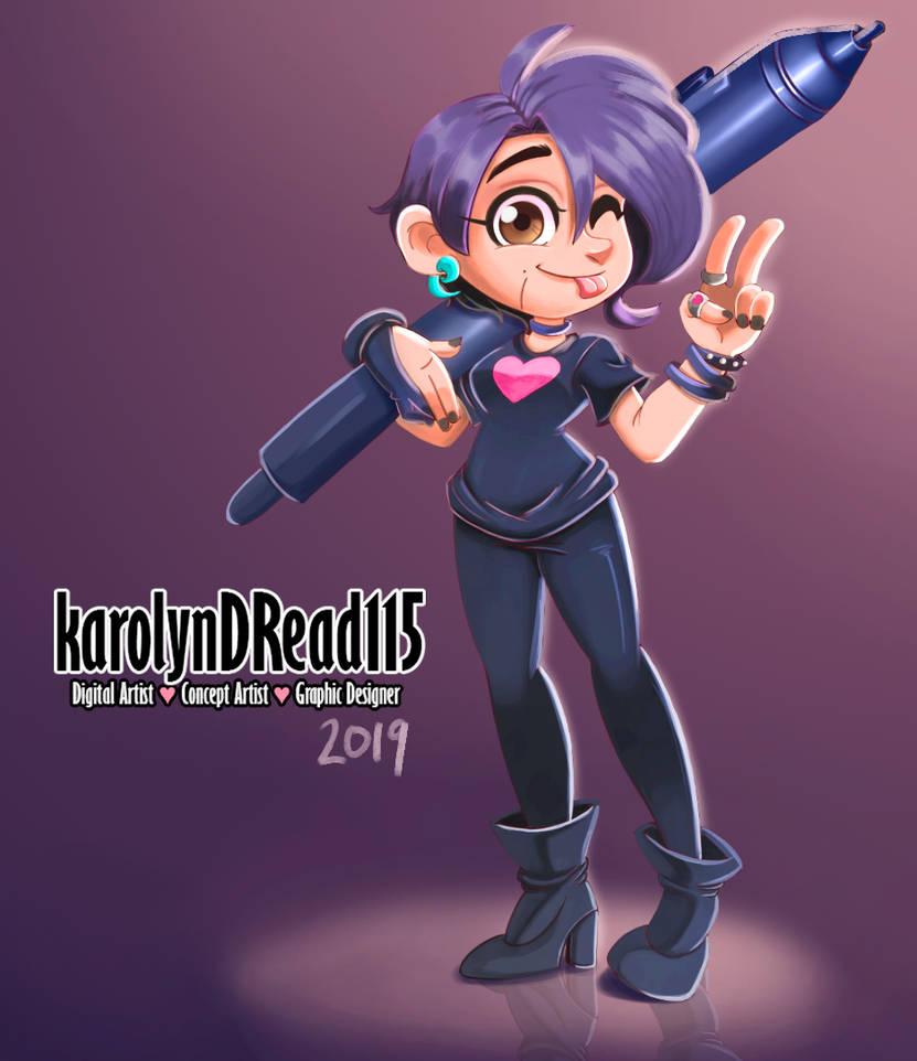 karolynDRead115 Portafolio 2019 by KarolynDread115