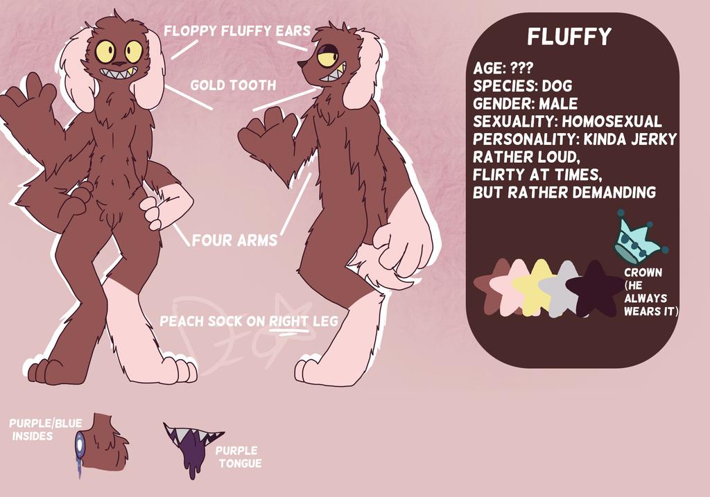 Fluffy reference by neonstarsx