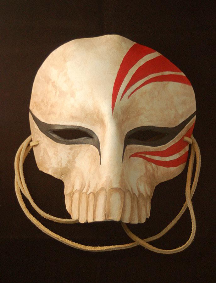 Hollow Ichigo Leather Mask by Angelic-Artisan
