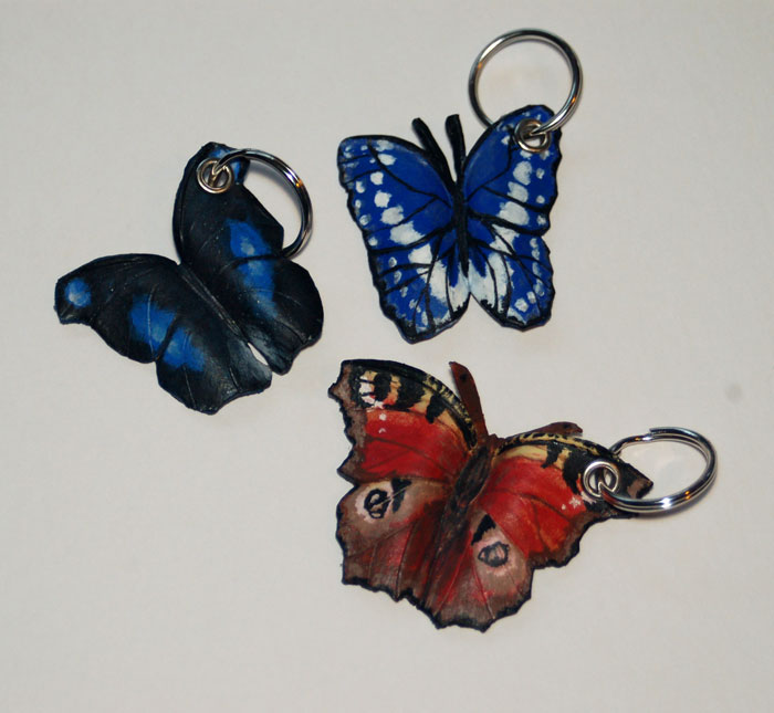Butterfly Keychains 11-17-2009