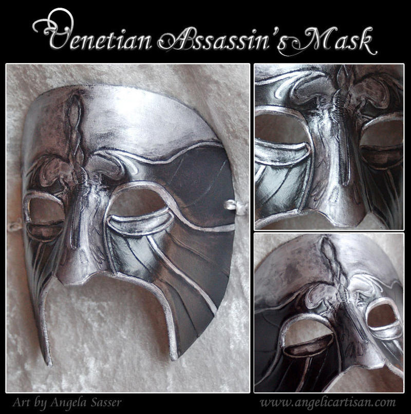 Ezio Carnevale Mask by Angelic-Artisan