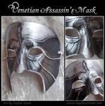 Ezio Carnevale Mask by Angelic-Artisan