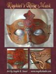 Kushiel's Rose Mask II by Angelic-Artisan
