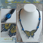 Tiger Swallowtail Necklace