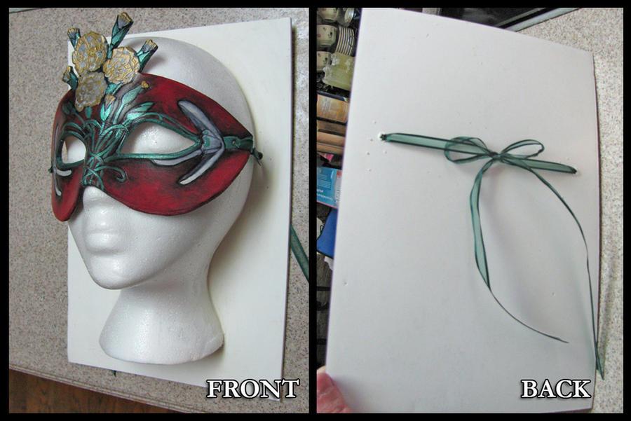 Styro Wall Mask Display Tut by Angelic-Artisan