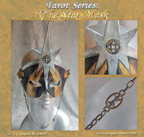 Tarot - The Star Necklace Mask by Angelic-Artisan