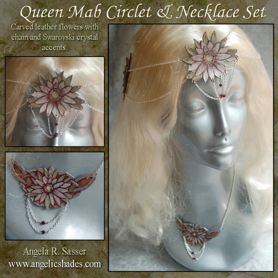 Queen Mab Circlet and Necklace by Angelic-Artisan