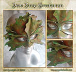 Dew Drop Green Man Mask