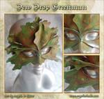 Dew Drop Green Man Mask