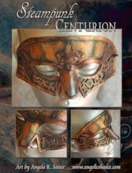 Steampunk Centurion Mask by Angelic-Artisan