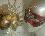 The Sun Prince and Naamah Masks