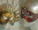 The Sun Prince and Naamah Masks