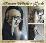 Raven Witch's Mask