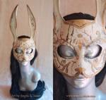 War Torn Splicer Bunny Rabbit Mask
