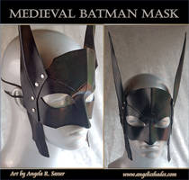 Medieval Batman Mask by Angelic-Artisan