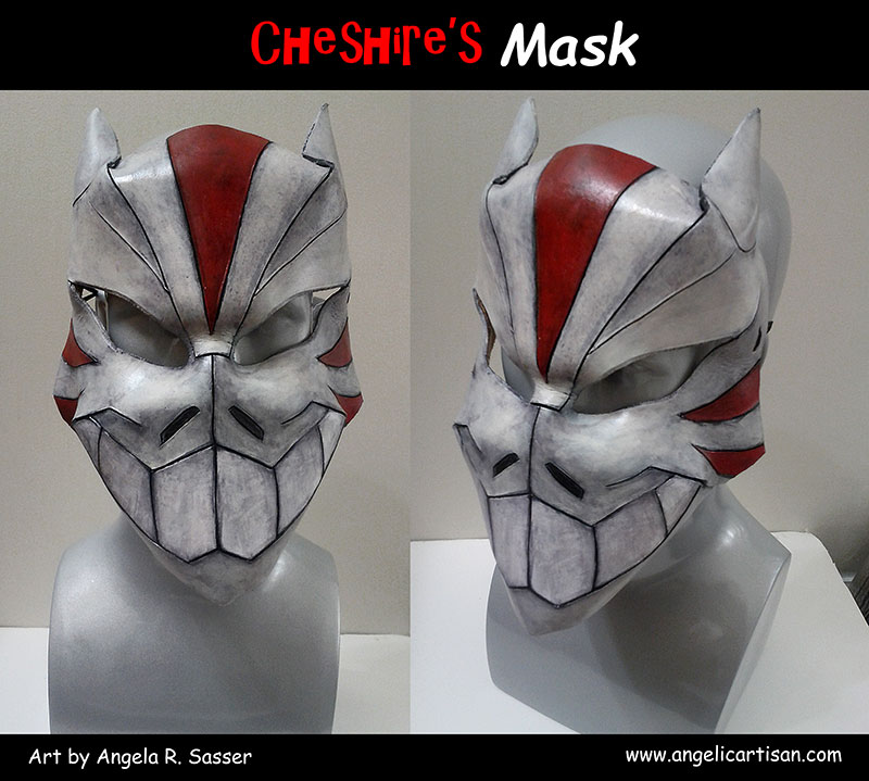 Cheshire's Mask by Angelic-Artisan