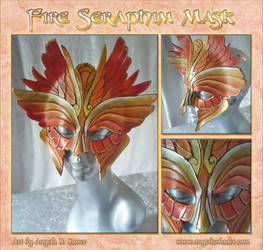 Fire Seraphim Mask by Angelic-Artisan